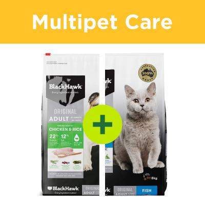 Multipet Plus - Black Hawk Food For Dogs And Cats