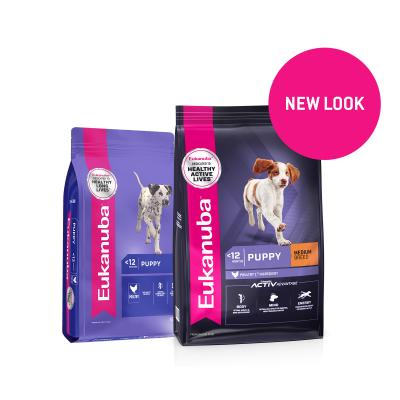 Eukanuba Medium Breed Puppy Dry Dog Food 30kg
