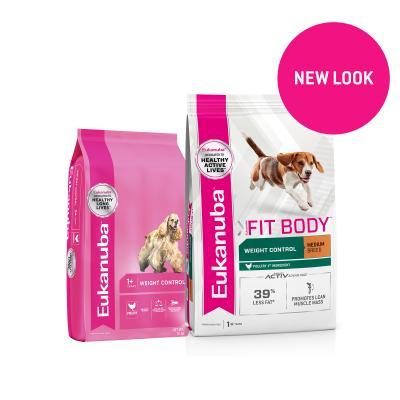 Eukanuba Weight Control Medium Breed Adult Dry Dog Food 30kg