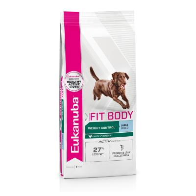 Eukanuba Fit Body Weight Control Large Breed Adult Dry Dog Food 14kg