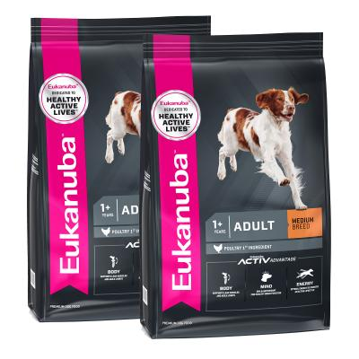 Eukanuba Medium Breed Adult Dry Dog Food 30kg