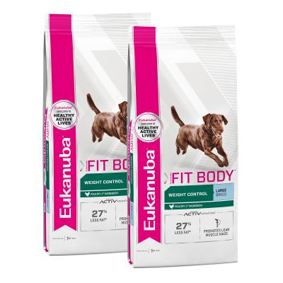 Eukanuba Fit Body Weight Control Large Breed Adult Dry Dog Food 28kg