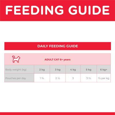 Hills Science Diet Ocean Fish Mature/Senior 7+ Pouches Wet Cat Food 85gm x 12