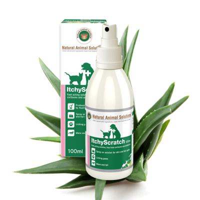 Natural Animal Solutions (NAS) Itchy Scratch Spray For Dogs And Cats 200ml (100ml x 2)