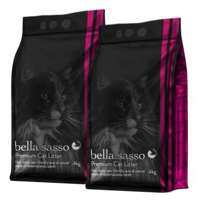 Bella Sasso Premium Natural Litter For Cats 8kg