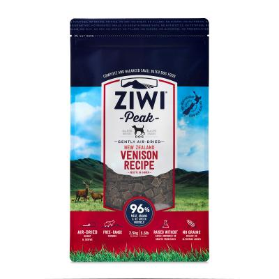 Ziwi Peak Grain Free Venison Puppy And Adult Air Dried Meat Dog Food 2.5kg