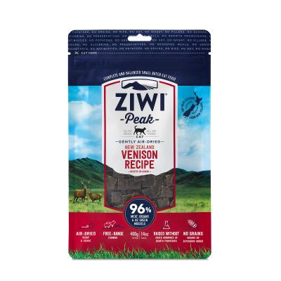 Ziwi Peak Grain Free Venison Kitten And Adult Air Dried Meat Cat Food 400gm