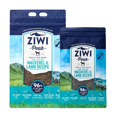 Ziwi Peak Grain Free Mackerel And Lamb Puppy And Adult Air Dried Meat Dog Food 6.5kg