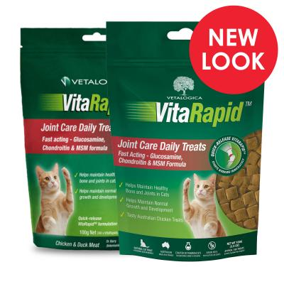 Vetalogica VitaRapid for Cats Joint Arthritis Daily Treats