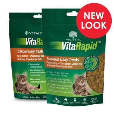 Vetalogica VitaRapid Tranquil Daily Treats For Cats