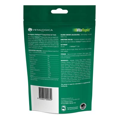 Vetalogica VitaRapid Tranquil Daily Treats For Cats