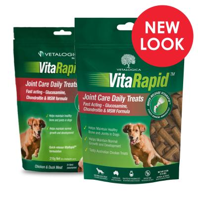Vetalogica VitaRapid for Dogs Joint Arthritis Daily Treats