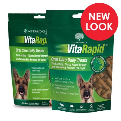 Vetalogica VitaRapid for Dogs Oral Defence Daily Treats