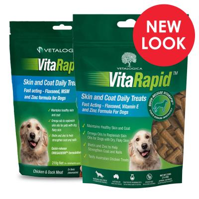 Vetalogica VitaRapid for Dogs Skin & Coat Daily Treats
