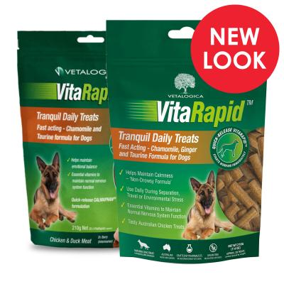 Vetalogica VitaRapid Grain Free Tranquil Daily Treats For Dogs