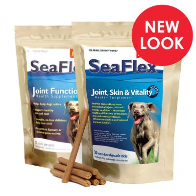 SeaFlex Joint Skin And Vitality Chew Sticks For Dogs 450g
