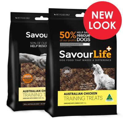 SavourLife Australian Chicken Training Treats For Dogs 165gm