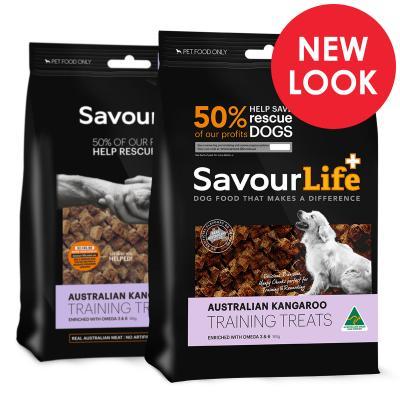 SavourLife Australian Kangaroo Training Treats For Dogs 165gm