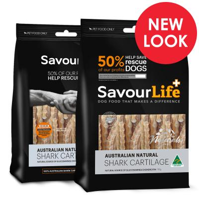 SavourLife Shark Cartilage Treats For Dogs 120gm