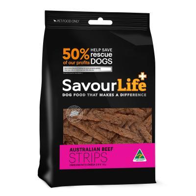 SavourLife Australian Beef Strips Treats For Dogs 165gm