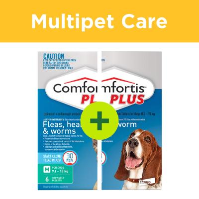 Multipet Plus - Comfortis Plus For Multi Dog Households