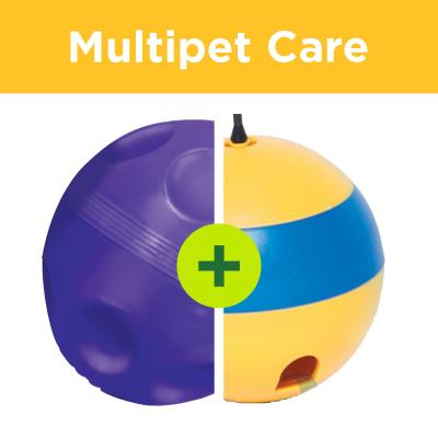 Multipet Plus - Slow Feeding Tools For Multi Cat Households