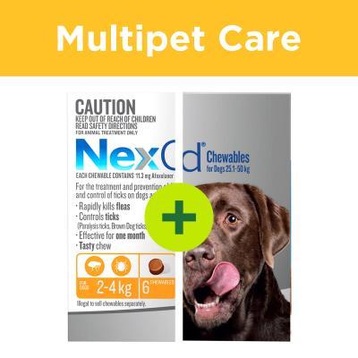 Multipet Plus - NexGard For Dogs For Multi Dog Households