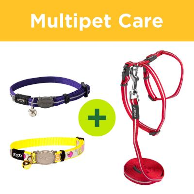 Multipet Plus - Rogz Collars Leads And Harnesses For Multi Cat Households