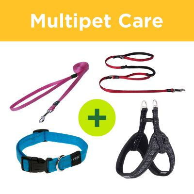 Multipet Plus - Rogz Collars Leads And Harnesses For Multi Dog Households