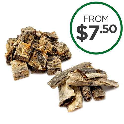 Dried Fish Skin Treats
