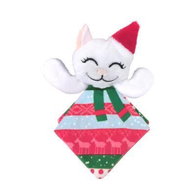 KONG Holiday Christmas Crackles Santa Kitty Catnip Toy For Cats