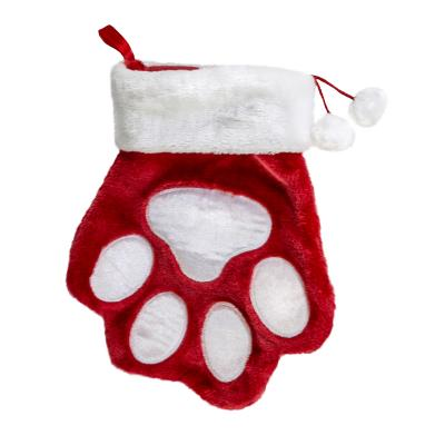KONG Holiday Christmas Paw Stocking Large Toy For Dogs
