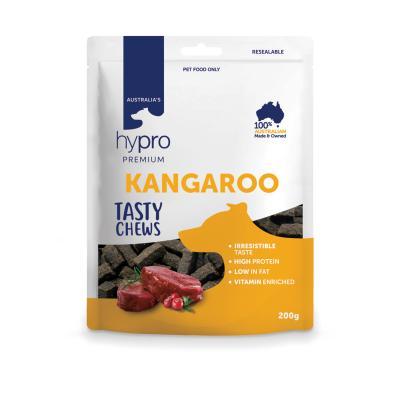 Hypro Premium Tasty Kangaroo Chew Treats For Dogs 200g