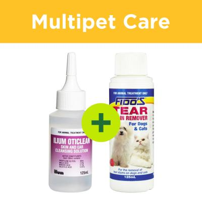 Multipet Plus - Ear And Eye Care For Dogs And Cats