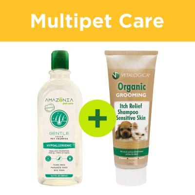 Multipet Plus - Sensitive Skin And Coat Grooming For Dogs And Cats