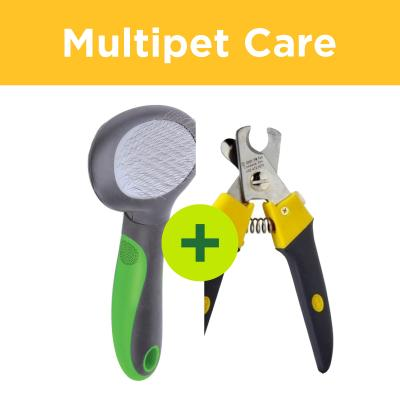 Multipet Plus - Grooming Tools For All Dog Coat Types In Multidog Homes