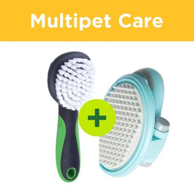 Multipet Plus - Grooming Tools For All Cat Coat Types In Multicat Homes