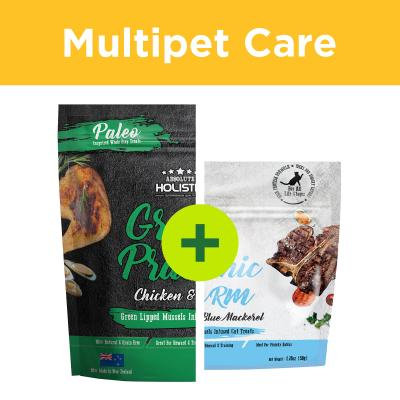 Multipet Plus - Absolute Holistic Natural Treats For Dogs And Cats