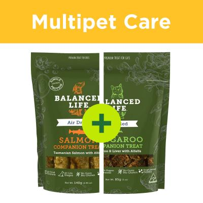 Multipet Plus - Balanced Life Companion Treats Rewards For Dogs And Cats