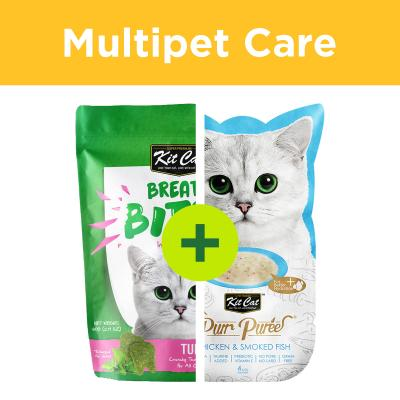Multipet Plus - Kit Cat Treats For Multicat Homes
