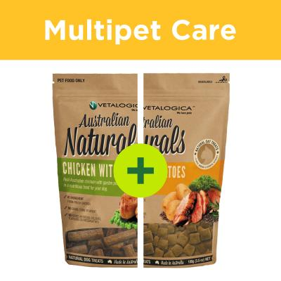 Multipet Plus - Vetalogica Naturals Treats For Dogs And Cats