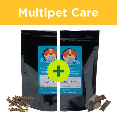 Multipet Plus - Fishtastic Fish Treats For Multidog Homes
