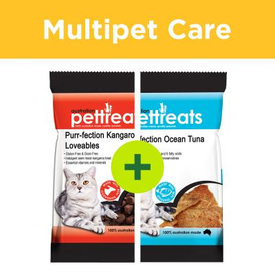 Multipet Plus - Australian Pettreats Cat Treats For Multicat Homes
