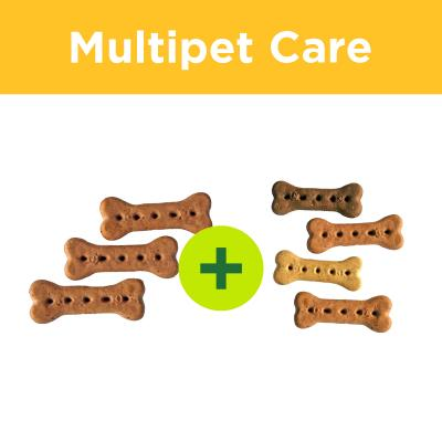 Multipet Plus - Australian Pettreats Baked Biscuit Treats For Multidog Homes