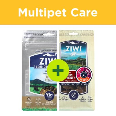 Multipet Plus - Ziwi Peak Natural Treats For Multidog Homes