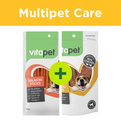 Multipet Plus - Vitapet Treats For Multidog Homes