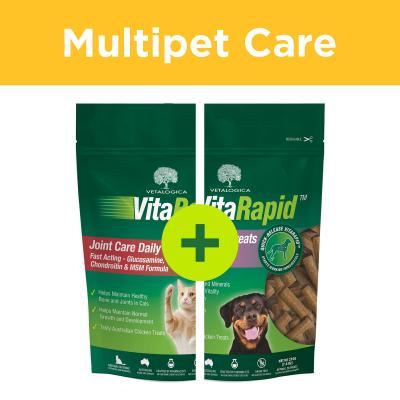 Multipet Plus - Vetalogica VitaRapid Supplement Treats For Dogs And Cats