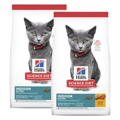 Hills Science Diet Indoor Chicken Recipe Kitten Dry Cat Food 6.34kg