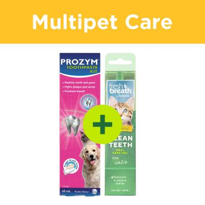 Multipet Plus - Dental Care Teeth Cleaning For Multicat Homes