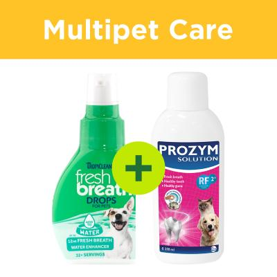 Multipet Plus - Add To Water Dental Care Solutions For Dogs And Cats
